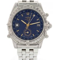 Breitling Men's Breitling Duograph Stainless Steel Watch...