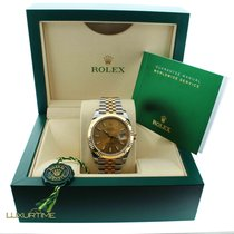 Rolex 126333 41mm Datejust Champagne Two Tone Jubilee