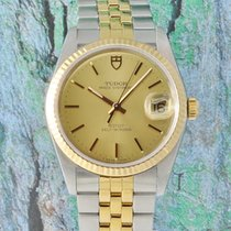Tudor Prince Oysterdate 74033 Stahl/Gold