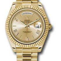 Rolex 228238 chrp Day-Date 40mm Yellow Gold