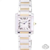 Cartier Tank Francaise   Large model Steel and Gold   Automatic