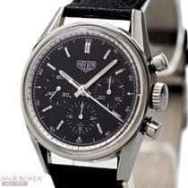 Heuer Carrera Chronograph Re-Edition Ref-CS3111 Stainless...