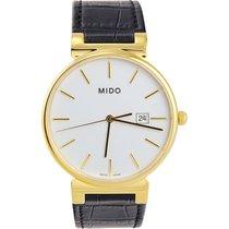 Mido M0096103601100 Caballero Mens Watch White Dial Quartz
