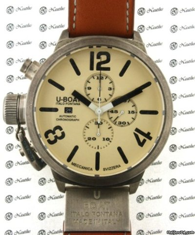 U-Boat Classic Golden Crow 53 AB 18K