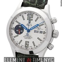 Ball Engineer Master II Telemeter Chronograph 41mm Silver Dial...