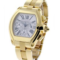 Cartier Roadster Yellow Gold Chronograph on Bracelet