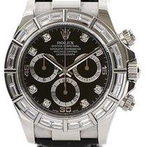 Rolex Cosmograph Daytona 116589 116589-BLK-DIA Black Diamond...