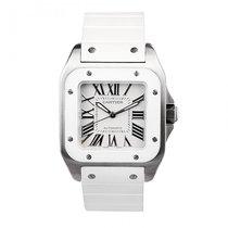 Cartier Santos 100 White