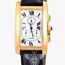Cartier Tank Americane Jumbo Chronograph