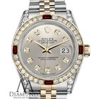 Rolex Womens Rolex Stainless Steel Silver & Gold 31mm...