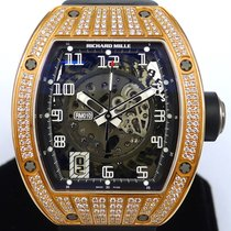 Richard Mille RM010 18K Rose Gold With Diamond