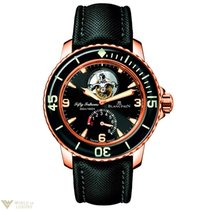 Blancpain Fifty Fathoms Tourbillon Rose Gold Watch