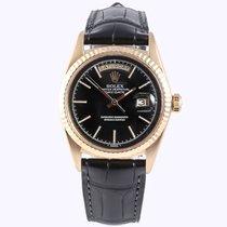 Rolex Day-Date matte black dial