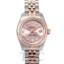 Rolex Lady Oyster Perpetual Rosa/18k rose gold Ø26 mm - 179171