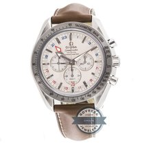 Omega Speedmaster Broad Arrow GMT Chronograph 3881.30.37