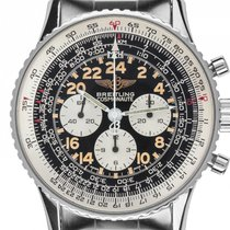 Breitling Navitimer Cosmonaute Stahl Handaufzug Chronograph...