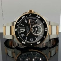 Cartier Calibre de Diver Watch 42mm 18k Rose Gold / Steel...