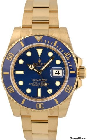 Rolex Submariner Date 116618 LB (lagernd)