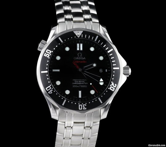Omega Seamaster James Bond 007 Collectors Piece Limited Edition SS