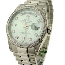 Rolex Used 118296 Platinum Mens President Day-Date - Circa...