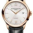 Baume & Mercier Clifton Automatic - Rose Gold on Strap...