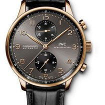 IWC Portuguese Chronograph - Red Gold IW371482
