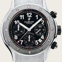 Hublot Classic Super B Black Flyback Rubber Chronograph Fe