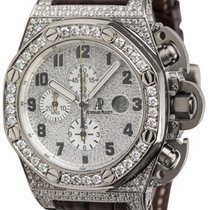 Audemars Piguet T3 Diamond Set Watch with Leather Strap...