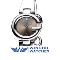Guccissima Brown Dial Stainless Steel Ref. YA134503