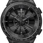 Perrelet Turbine Chronograph Black Dial Automatic Men's Watch