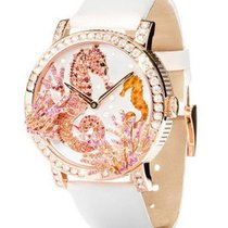 Boucheron Crazy Jungle Seahorse in Rose Gold with Diamonds