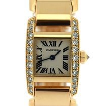 Cartier Tankissime rose gold diamonds