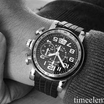 Graham Silverstone  Flyback Chronograph GMT Stahl/Carbon Fullset