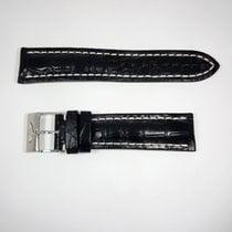 Breitling Crocodile 22/20mm Black