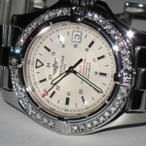 Breitling Colt Automatic Steel Diamonds