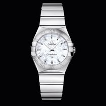 Omega Constellation Quartz Mother Of Pearl Dial 27mm T