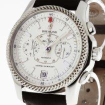 Breitling for Bentley Mark VI Chronograph Stahl Platin P26362