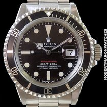 Rolex 1680 Red Submariner Mark IV Dial Stainless Automatic