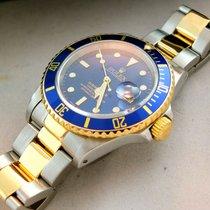 """Rolex Submariner 16613 """"Blue""""  LC 100 Deutsch Full Set..."""