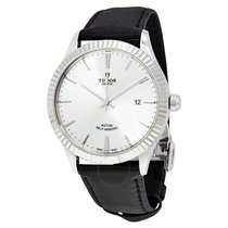 Tudor Style Silver Dial Automatic Men's Watch