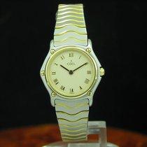 Ebel Classic Wave 18kt 750 Gold / Edelstahl Damenuhr Box &...
