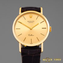 Rolex Cellini 18K Gold 4109 Lady  BOX & PAPERS