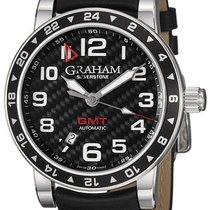 Graham Silverstone GMT · Time Zone Black 2TZAS.B02A.L86S