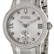 Bulova Masella Stainless Steel & Diamond Womens Watch 63R001