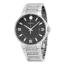 Movado SE Pilot Black Dial Stainless Steel Men's Watch