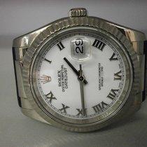 Rolex Datejust 116139 18k White Gold 36mm Strap Watch....
