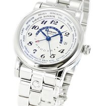 Montblanc 109286 Star World-Time GMT Automatic Men's...