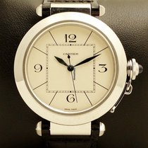 Cartier Pasha Automatic 42 mm Steel, W3107255, Full set