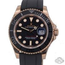 ロレックス (Rolex) Yacht-Master Rose Gold Rubber | 116655 Unworn 2016