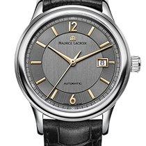 Maurice Lacroix Les Classique Date Gold Index, Gray Dial,...